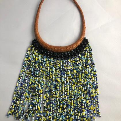 Beaded Necklace/ Statement Necklace..
